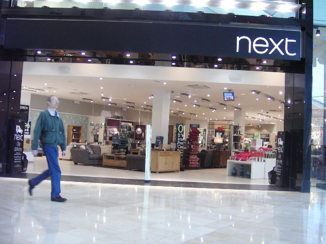 retailers in the UK, Next